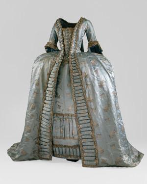 Robe à la Française, ca. 1765 - www.metmuseum.org
